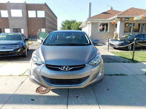 2013 Hyundai Elantra for sale at Gold Star Auto Sales in Murry UT