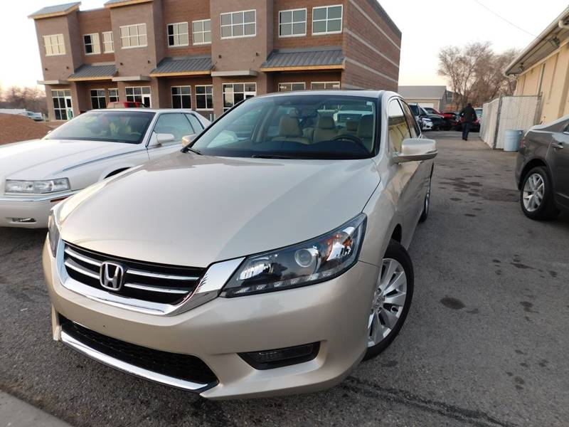 2014 Honda Accord for sale at Gold Star Auto Sales in Murry UT