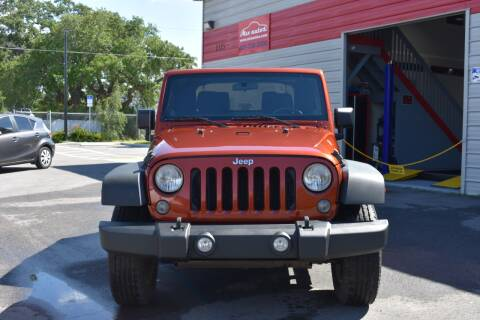 2014 Jeep Wrangler Sport for sale at Mix Autos in Orlando FL