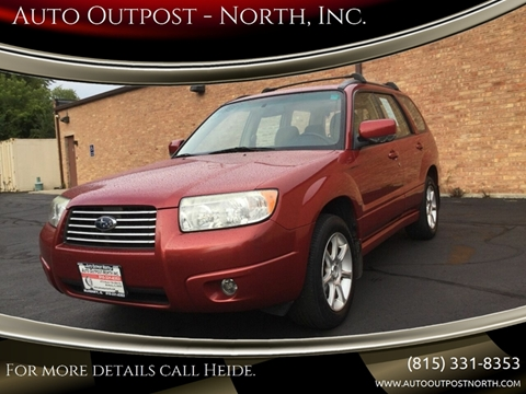 2008 Subaru Forester for sale in Mchenry, IL