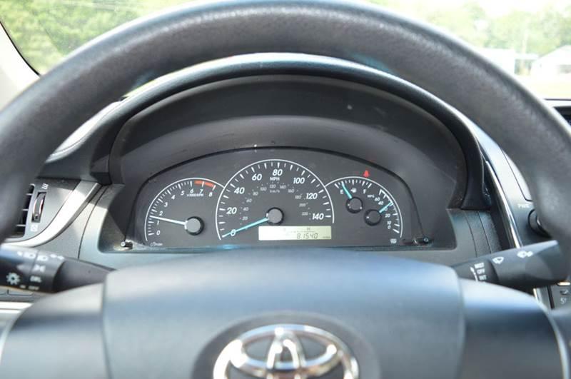 2012 Toyota Camry L 4dr Sedan - Donalsonville GA