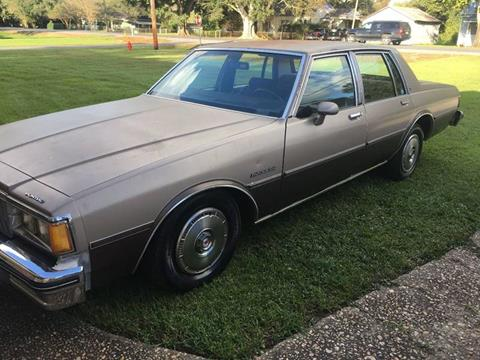 1983 Pontiac Parisienne For Sale In Raceland La