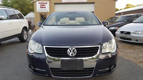 2007 Volkswagen Eos for sale in Ashland, MA