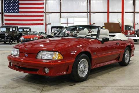 1988 Ford Mustang for sale in Grand Rapids, MI