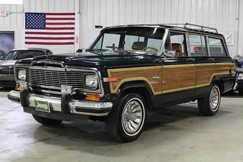 1985 Jeep Grand Wagoneer for sale in Grand Rapids, MI