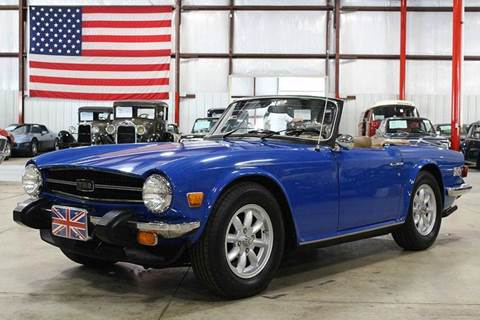 1976 Triumph TR6 for sale in Grand Rapids, MI
