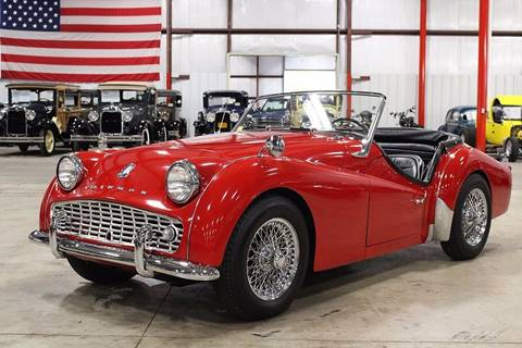 1961 Triumph TR3A for sale in Grand Rapids, MI