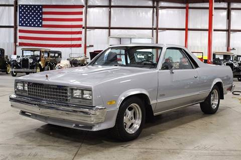 1985 chevrolet el camino for sale carsforsale 1985 chevrolet el camino for sale in grand rapids mi publicscrutiny Choice Image