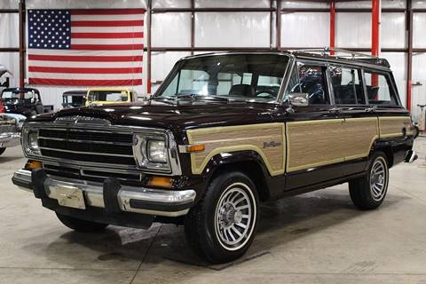 1990 Jeep Grand Wagoneer for sale in Grand Rapids, MI