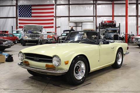 1971 Triumph TR6 for sale in Grand Rapids, MI