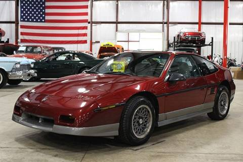1987 Pontiac Fiero for sale in Grand Rapids, MI