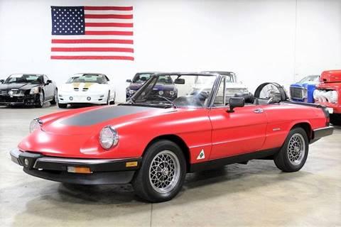 Alfa Romeo Spider For Sale In Michigan Carsforsalecom - Alfa romeo convertible for sale