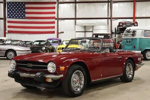 1974 Triumph TR6 for sale in Grand Rapids, MI