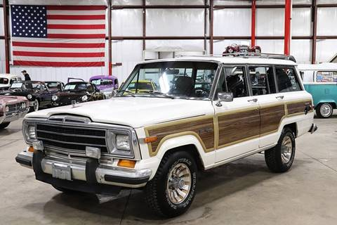 1987 Jeep Grand Wagoneer for sale in Grand Rapids, MI