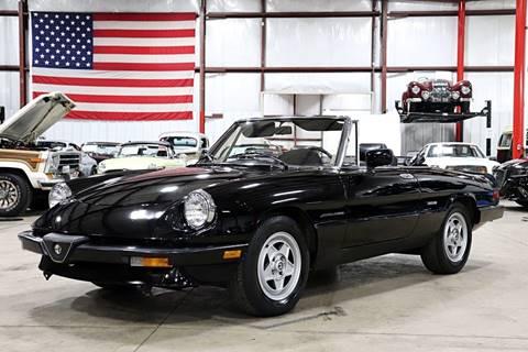 1987 Alfa Romeo Spider for sale in Grand Rapids, MI