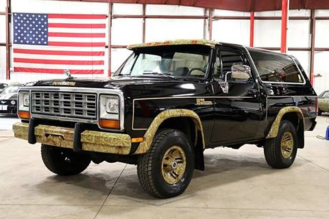 1985 Dodge Ramcharger for sale in Grand Rapids, MI
