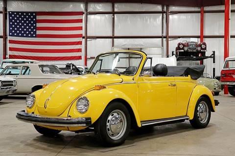 Vw Beetle Convertible >> 1978 Volkswagen Beetle Convertible For Sale In Grand Rapids Mi
