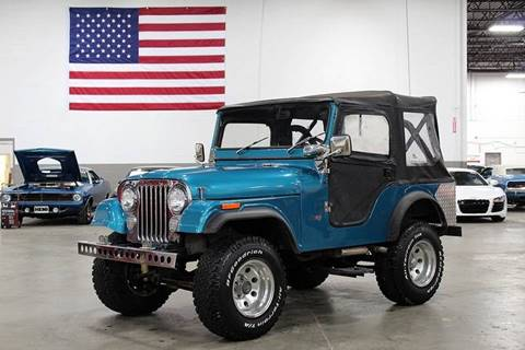 1971 Jeep CJ-5 for sale in Grand Rapids, MI
