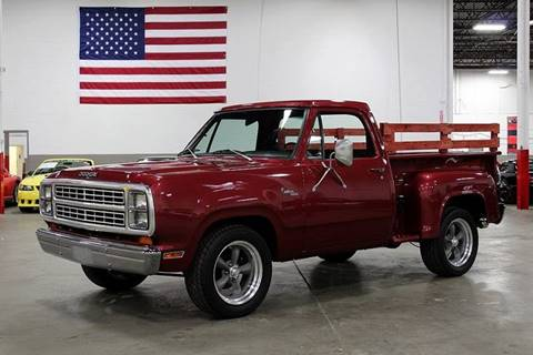 Awesome 1979 Dodge D100 Pickup For Sale In Grand Rapids Mi Caraccident5 Cool Chair Designs And Ideas Caraccident5Info