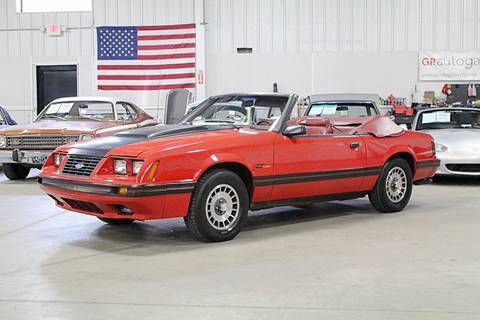 1984 Ford Mustang for sale in Grand Rapids, MI