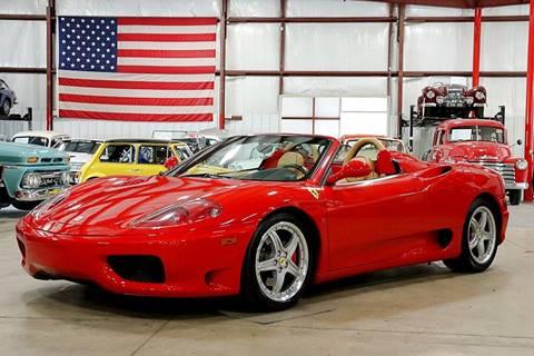 2003 Ferrari 360 Spider for sale in Grand Rapids, MI