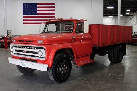 Trucks For Sale In Michigan >> 1965 Chevrolet 60 Flatbed Truck For Sale In Grand Rapids Mi
