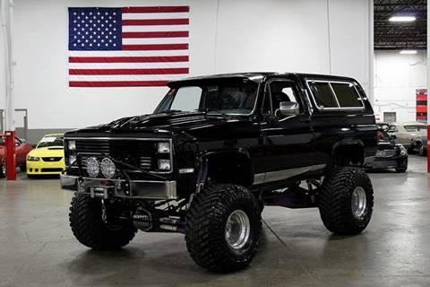 1985 Chevrolet Blazer for sale in Grand Rapids, MI