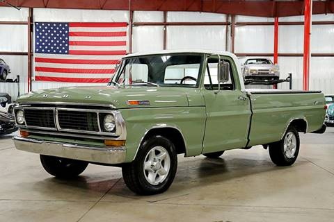 Used 1970 Ford F 100 For Sale In Zanesville Oh Carsforsale Com