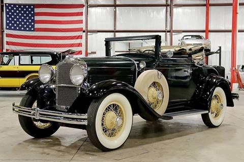 1929 Marmon Model 68 Convertible for sale in Grand Rapids, MI
