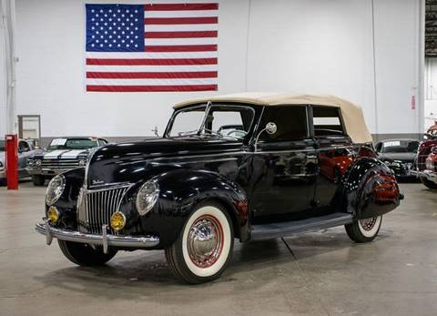 1939 Ford Deluxe for sale at GR Auto Gallery in Grand Rapids MI