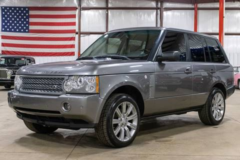 2007 Land Rover Range Rover HSE for sale at GR Auto Gallery in Grand Rapids MI