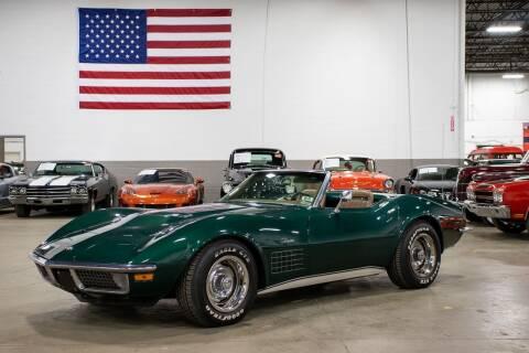 1971 Chevrolet Corvette for sale at GR Auto Gallery in Grand Rapids MI