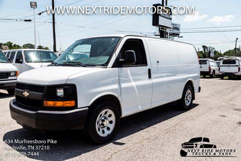 Used Chevrolet Express Cargo For Sale In Nashville Tn