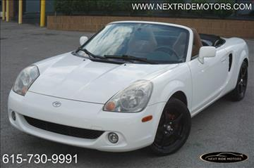 2003 Toyota MR2 Spyder for sale in Nashville, TN