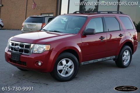 2010 Ford Escape for sale in Nashville, TN