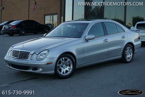 2005 Mercedes-Benz E-Class for sale in Nashville, TN