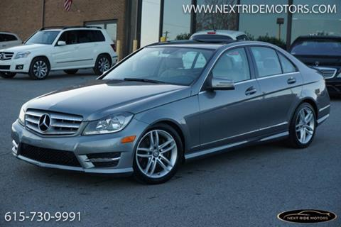 2013 mercedes benz c class for sale in nashville tn for Mercedes benz in nashville tn