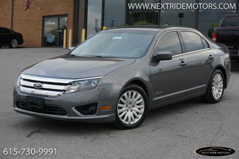 2010 ford fusion for sale in tennessee for Electric motors nashville tn