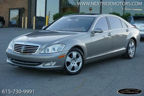 2007 Mercedes Benz S Class For Sale In Nashville, TN