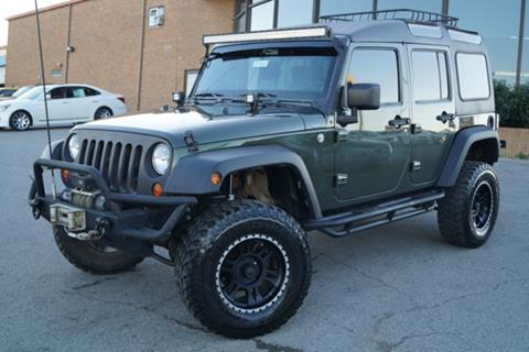 2008 Jeep Wrangler Unlimited for sale in Nashville, TN