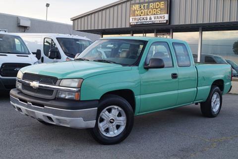 2005 Chevrolet Silverado 1500 for sale at Next Ride Motors in Nashville TN