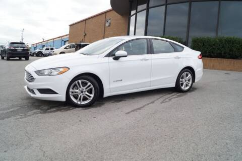 2018 Ford Fusion Hybrid for sale at Next Ride Motors in Nashville TN