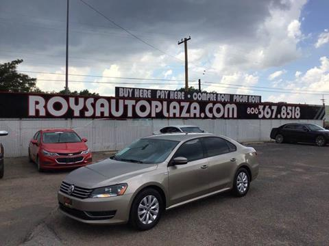 2015 Volkswagen Passat for sale at Roy's Auto Plaza 2 in Amarillo TX