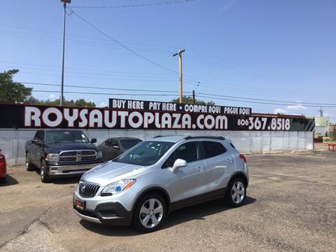 2016 Buick Encore for sale at Roy's Auto Plaza 2 in Amarillo TX