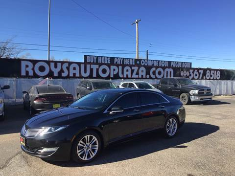 2013 Lincoln MKZ for sale at Roy's Auto Plaza 2 in Amarillo TX