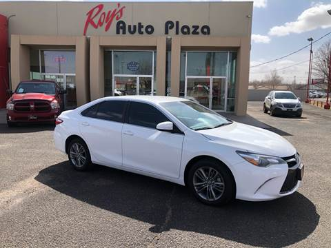 2015 Toyota Camry for sale at Roy's Auto Plaza in Amarillo TX