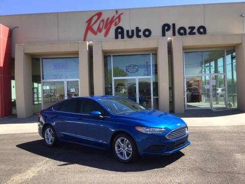 2018 Ford Fusion for sale at Roy's Auto Plaza in Amarillo TX