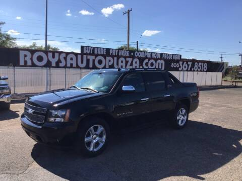 2007 Chevrolet Avalanche for sale at Roy's Auto Plaza in Amarillo TX