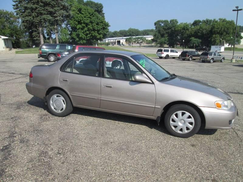 2001 Toyota Corolla CE 4dr Sedan - Hutchinson MN