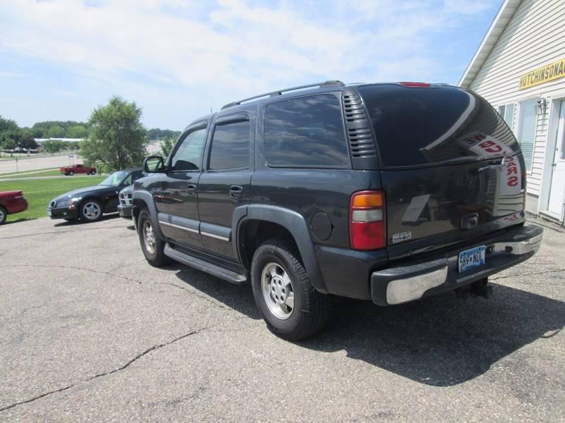 2003 Chevrolet Tahoe LT 4WD 4dr SUV - Hutchinson MN